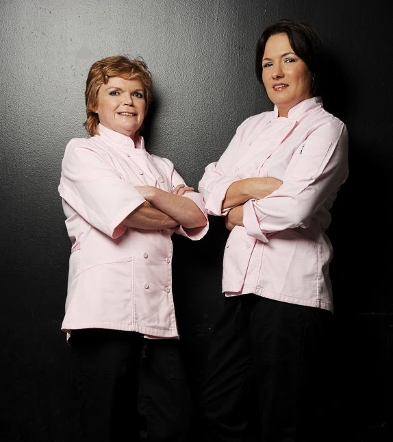 Denise and Caitlin from Table Manners